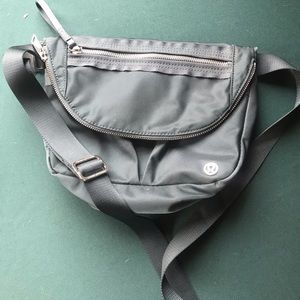 Festival bag muted blue green